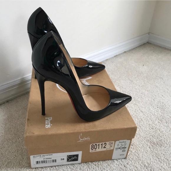 3f6e4e0d655 Christian Louboutin Shoes - Christian Louboutin So Kate Black Patent Pumps